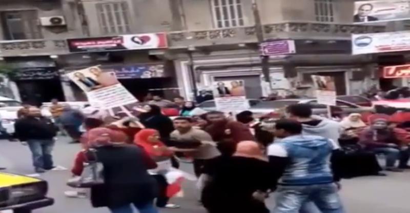 بالفيديو   لحظة وفاة سيدة بالاسكندرية أثناء التصويت في الانتخابات الرئاسية
