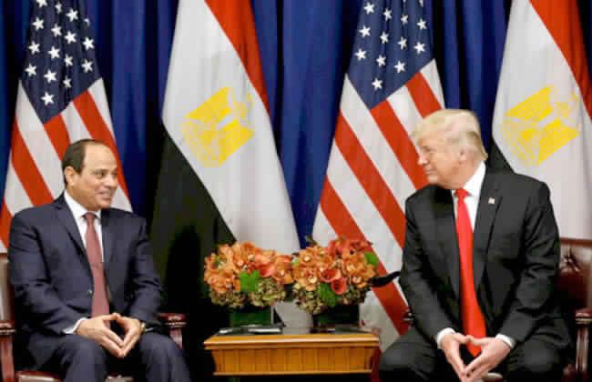 الرئاسة تكشف تفاصيل المكالمة الهاتفية العاجلة بين السيسي ودونالد ترامب