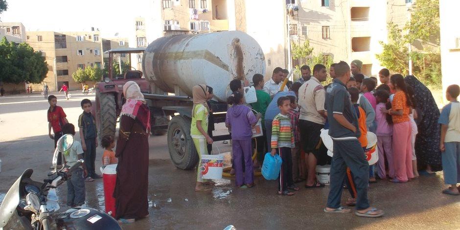 """""""تحذير هام"""".. قطع المياه عن عدة مناطق بالقاهرة الكبرى لمدة 10 ساعات بدءًا من مساء اليوم"""