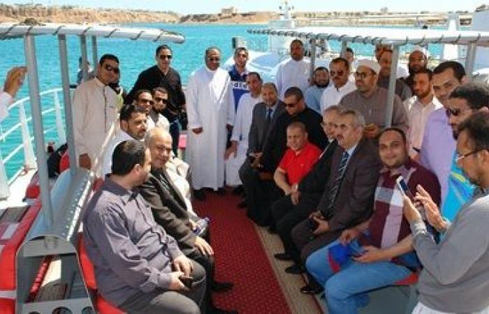 انطلاق فعاليات رحلة ترفيهية لأئمة الأوقاف في شرم الشيخ