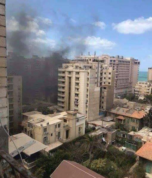 أستشهاد شرطى وأصابة أربعة آخرين ونجاة مدير امن الإسكندرية في انفجار سيارة مفخخة
