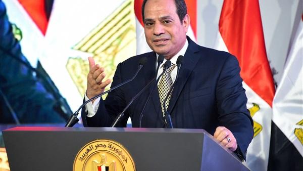 إستاد القاهرة يهتز بـ هتافات المواطنين.. ورد فعل غير متوقع من الرئيس السيسي