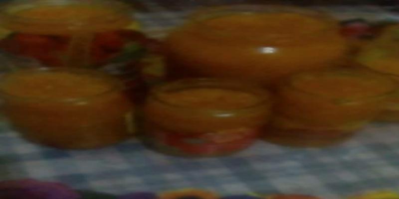 مربى البرتقال بالجزر