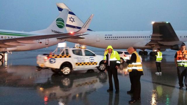 """عاجل.. إعلان حالة الطوارئ في إسرائيل بعد حادث مطار """"بن جوريون"""" في تل آبيب"""