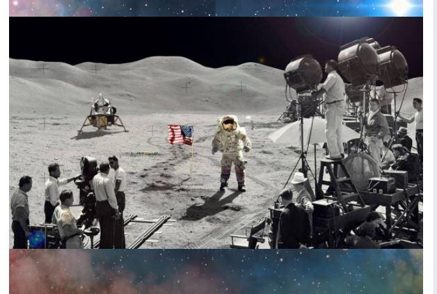 ماذا لو الهبوط على سطح القمر كان مزيفًا حقًا