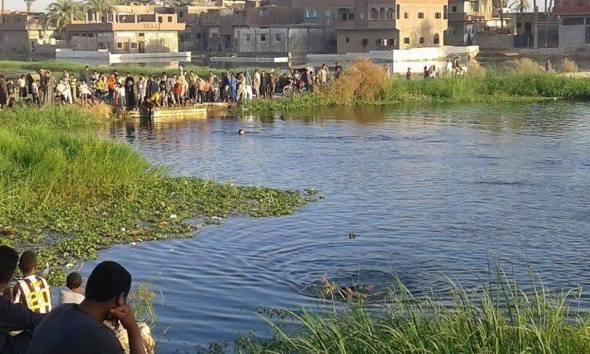 أثناء الاحتفال بشم النسيم.. غرق أسرة كاملة بمياه النيل