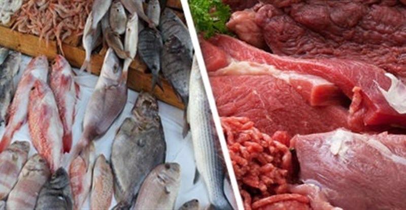 ارتفاع أسعار البلطي والبوري وتراجع الجمبري وثبات اللحوم اليوم 14 أبريل 2018