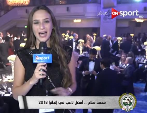 شاهد| محمد صلاح يرفض التسجيل مع قناة «أون تي في».. وأول تعليق من المذيعة