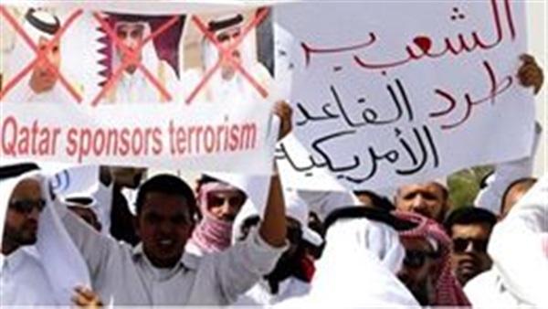 عاجل بالصور.. مظاهرات في الدولة القطرية ضد «تميم».. والنظام يلجأ لقطع «واتساب»