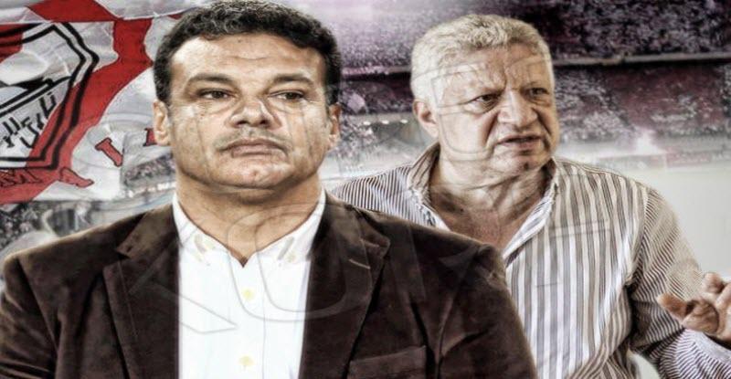 مرتضى منصور يقبل استقالة إيهاب جلال ويكشف عن هوية المدرب الجديد لنادي الزمالك