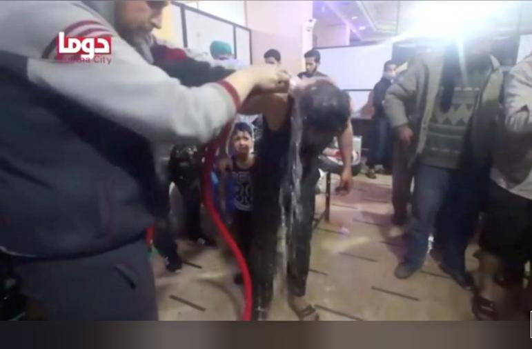 ترامب: سنتخذ قرارا سريعا بعد الهجوم الكيميائي السوري المشتبه به ربما نهاية اليوم