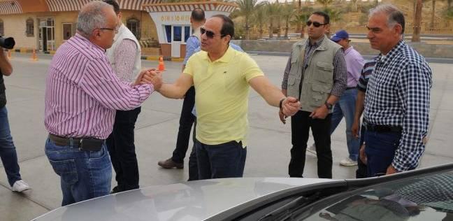 """أحمد موسى: """"تي شيرت السيسي عامل قلبان في البلد كلها"""""""