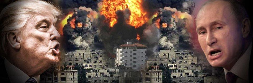 شاهد بالفيديو| لحظة تصدي قوات الدفاع الجوي السوري لصواريخ العدوان الثلاثي عليها