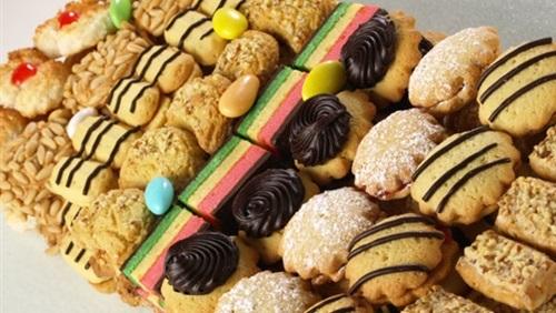أسعار الكعك والبسكويت والغريبة والبيتى فور فى معرض أهلاً رمضان