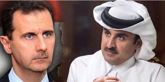 صحيفة إندبندنت البريطانية: تحالف سري بين تميم والأسد يجري بناؤه