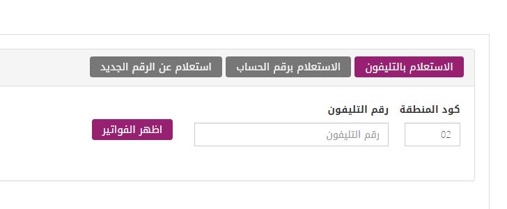 استعلم الآن عن فاتورة التليفون الأرضى لشهر أكتوبر 2018 من موقع المصرية للإتصالات billing.te.eg