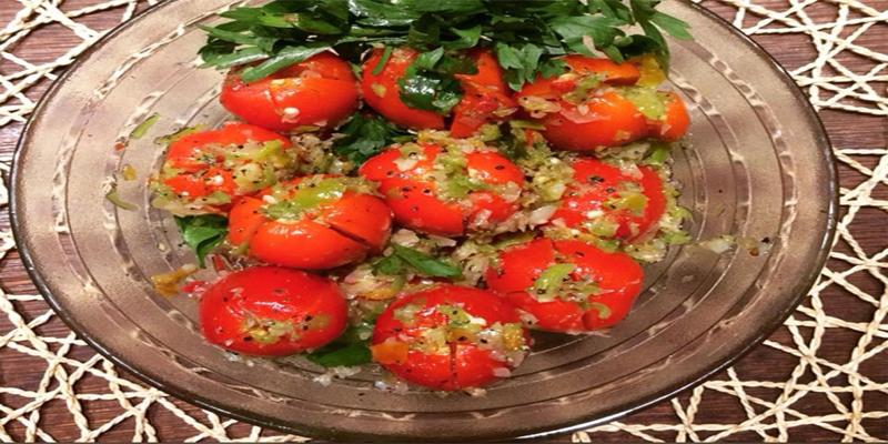 مخلل طماطم