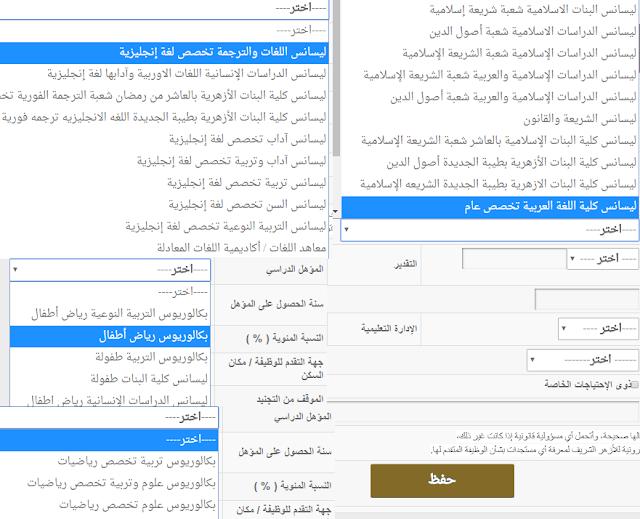 استمارة التقديم بوظائف الأزهر الشريف وشوطها ورابط التقديم