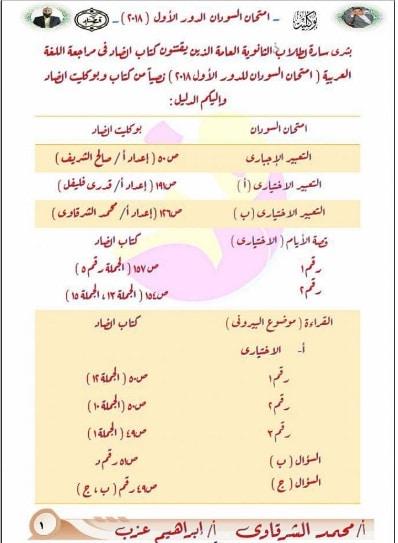 بوكليت اللغة العربية
