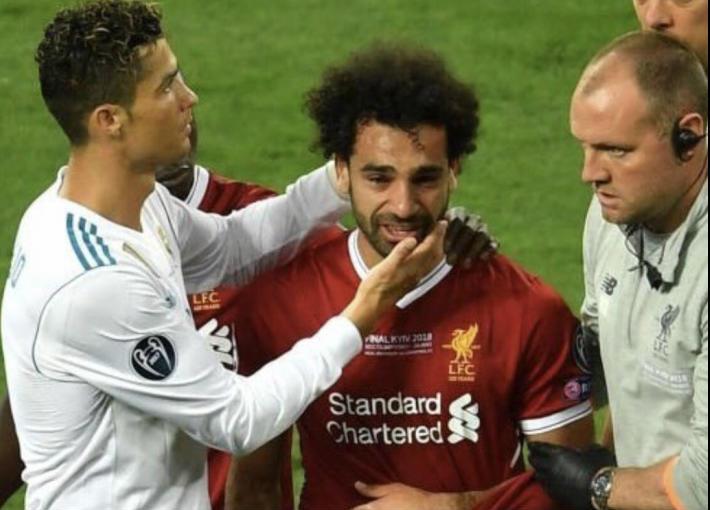 احمد موسى يثبت بالدليل تعمد مدافع ريال مدريد إصابة «محمد صلاح» فيديو