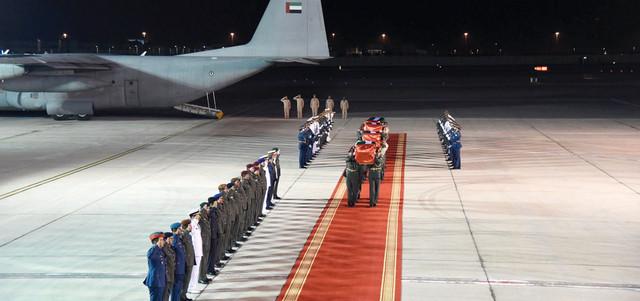 """مطار القاهرة.. وصول 20 جثمان لمواطنين مصريين راحوا ضحية لـ """"مذبحة ليبيا"""" الآليمة !"""