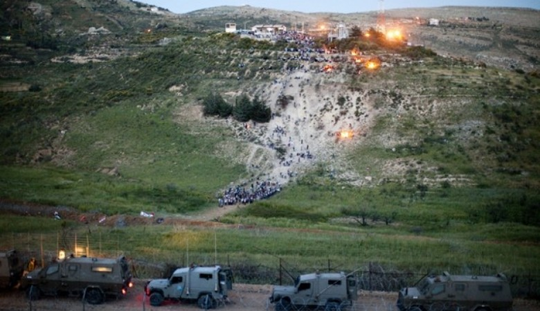 إيران تطلق صورايخ تجاه مواقع تابعة للجيش الإسرائيلي