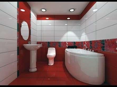 احدث وأجمل ديكورات وأطقم حمامات 2019