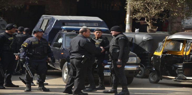 أعمال شغب وتجمهر أمام أحد أقسام الشرطة بالقاهرة عقب وفاة متهم بالقسم