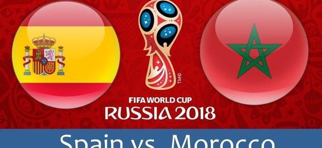 مباراة المغرب وأسبانيا اليوم والقنوات الناقلة