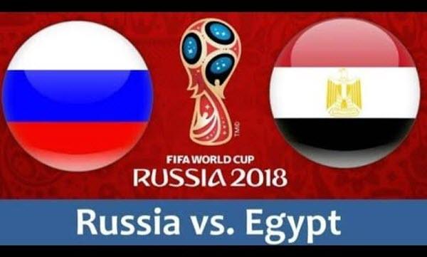 موعد وتوقيت مباراة مصر وروسيا القادمة فى كأس العالم والقنوات الناقلة والتشكيل المتوقع