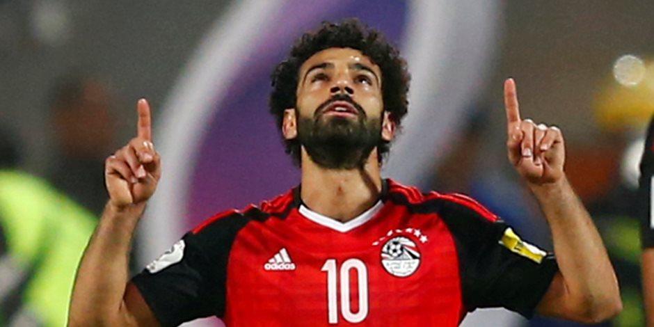 محمد صلاح يشارك في تدريبات منتخب مصر قبل المونديال