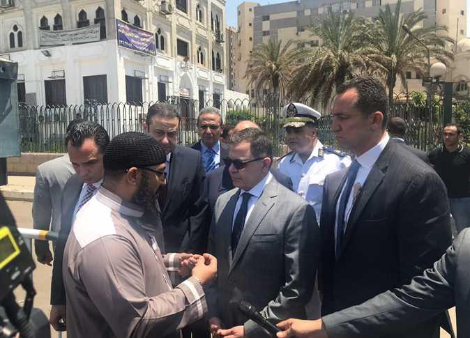 وزير الداخلية من رابعة العدوية:  لن نتهاون مع أي أحد يرفع السلاح في وجه الشعب المصري