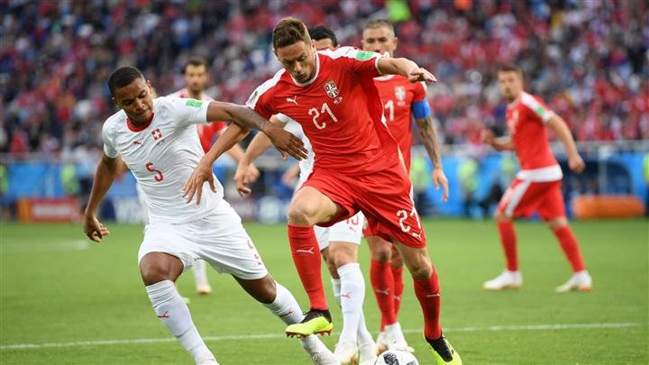 تخطي المنتخب السويسري على نظيره الصربي بالفوز