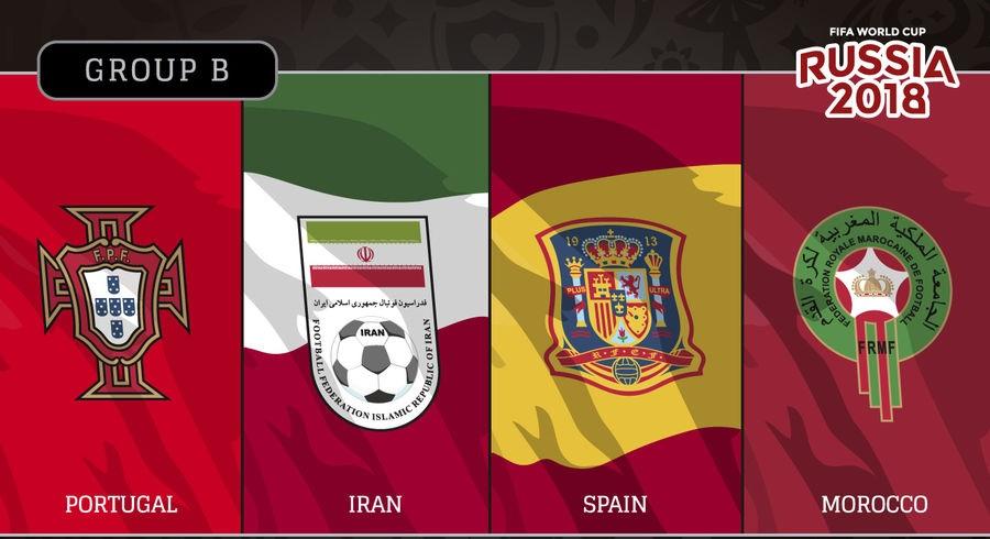مواعيد ونتائج وجدول ترتيب المجموعة الثانية كأس العالم بروسيا 2018 والقنوات الناقلة.. محدث