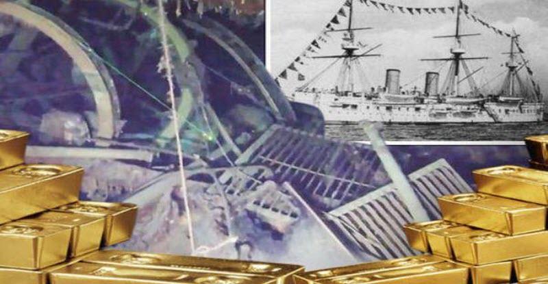حقيقة العثور على سفينة غارقة تحمل ذهب بـ 130 مليار دولار