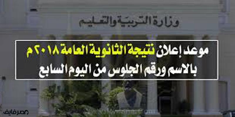 اعلان النتيجة على موقع اليوم السابع