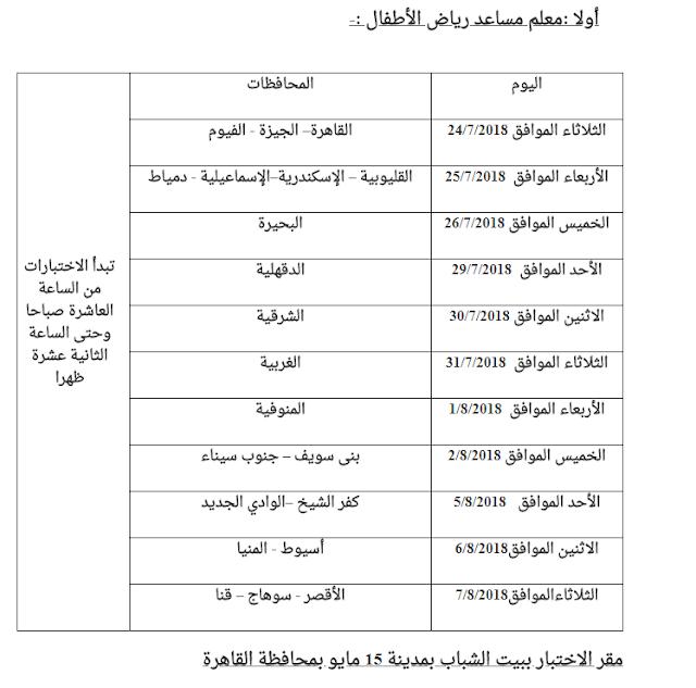 مواعيد وأماكن اختبارات مسابقة الأزهر الشريف 2018 بجميع المحافظات