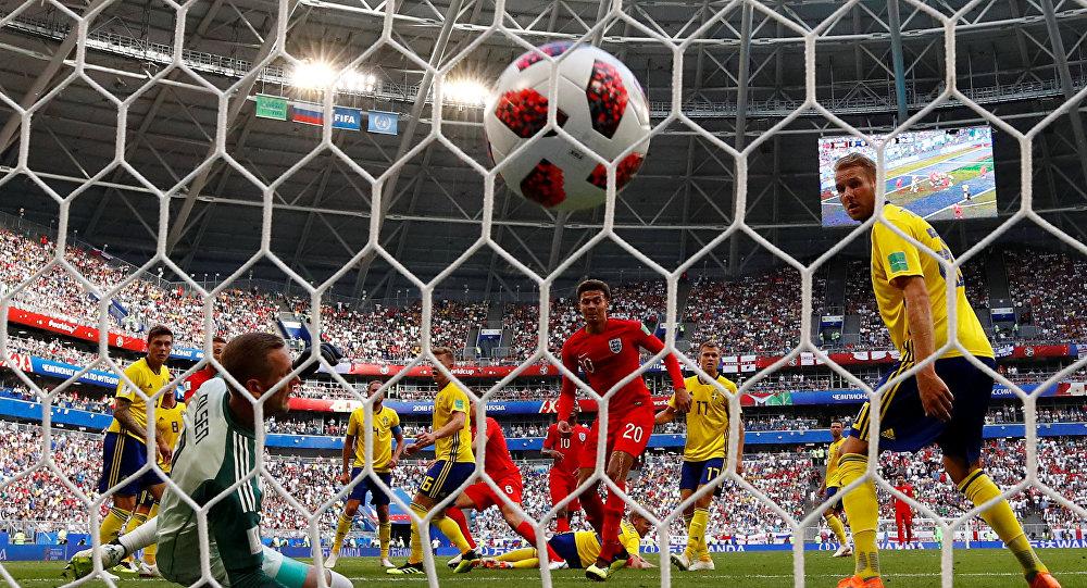 منتخب انجلترا يتأهل لنصف النهائي بمونديال روسيا 2018