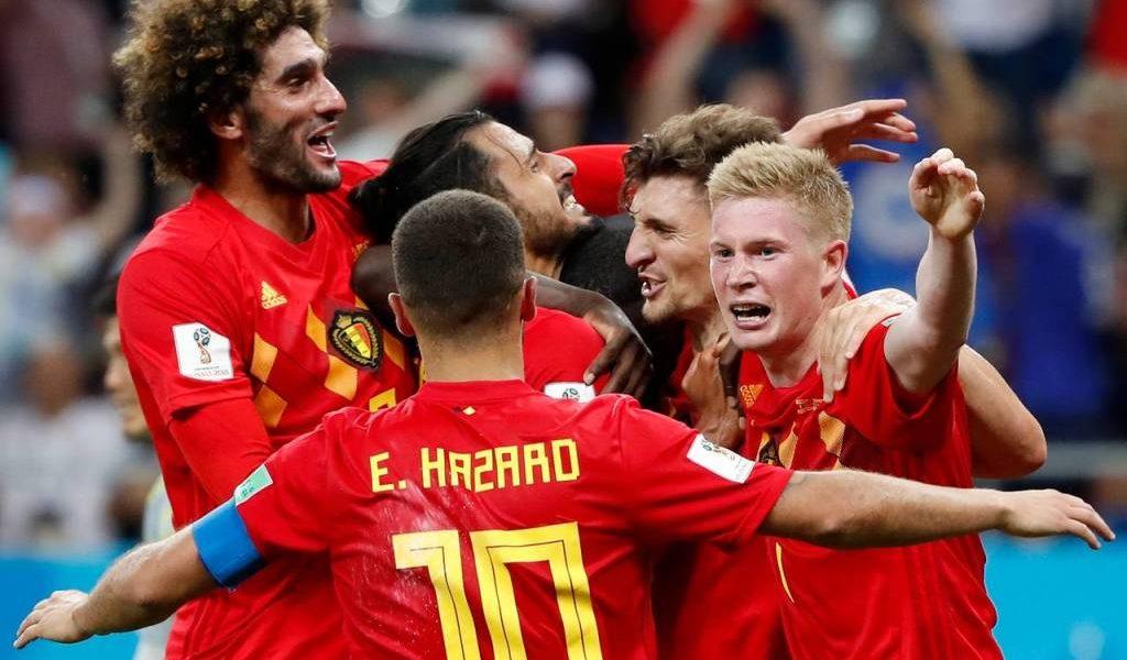 منتخب بلجيكا يتأهل لنصف النهائي بمونديال روسيا 2018