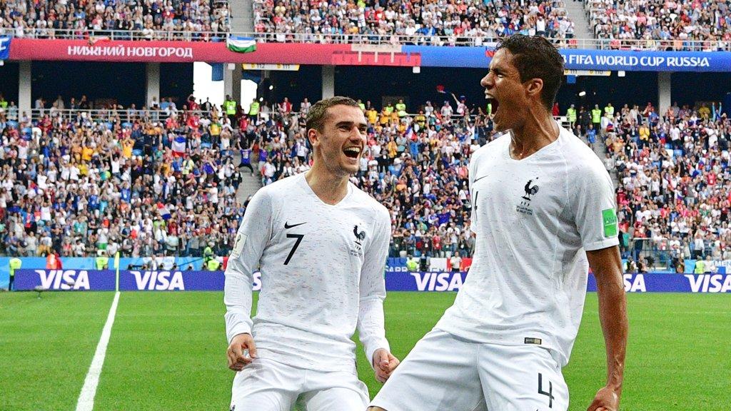 منتخب فرنسا يتأهل لنصف النهائي بمونديال روسيا 2018