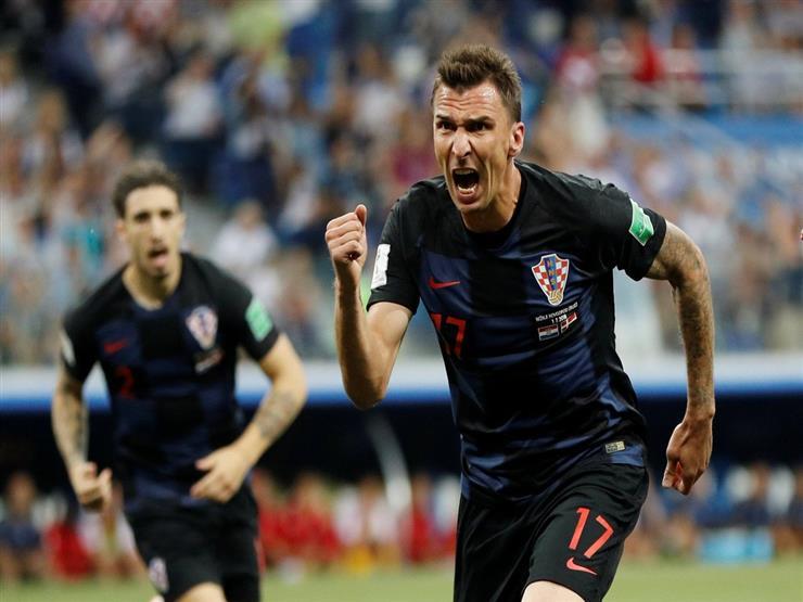 منتخب كرواتيا يتأهل لنصف النهائي بضربات الترجيح