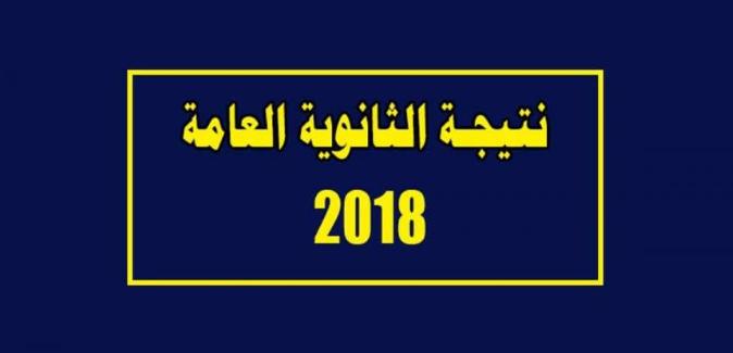 نتيجة الثانوية العامة 2018 من موقع وزارة التربية والتعليم