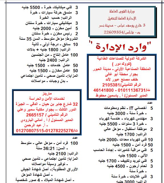 """وظائف الحكومة المصرية """"محدث"""" 1"""