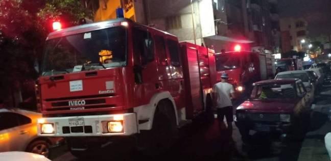 """بالتفاصيل.. حريق هائل يضرب منطقة """"شبراخيت"""".. وأول بيان يكشف حجم الخسائر"""