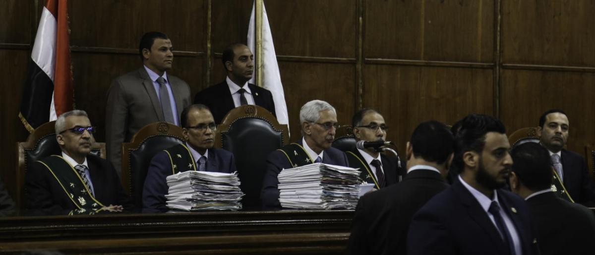 """عاجل.. حكم نهائي من المحكمة يفاجئ الجميع في قضية """"فض إعتصام رابعة"""""""