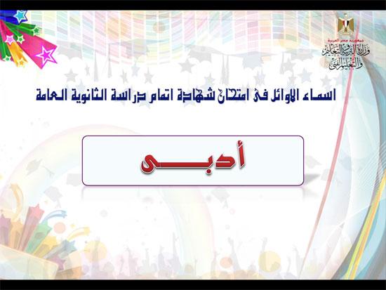 ننشر أسماء أوائل الثانوية العامة 2018 على مستوى محافظات جمهورية مصر العربية 23