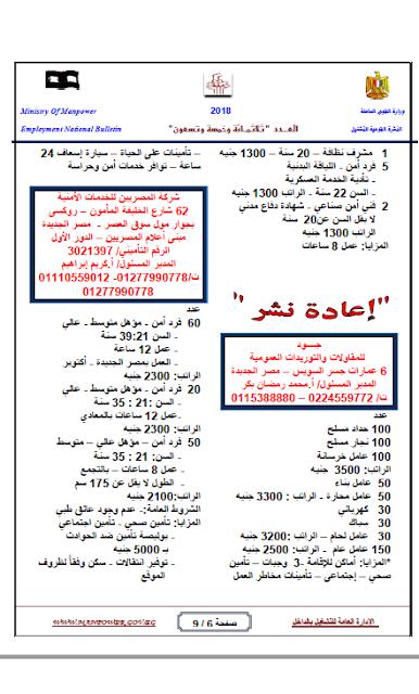 """وظائف الحكومة المصرية """"محدث"""" 7"""