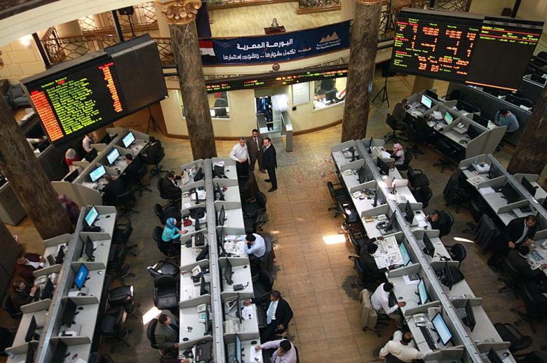 ارتفاع اجمالي البورصة في نهاية الأسبوع وتصل قيمة التداول إلي 5.8 مليار