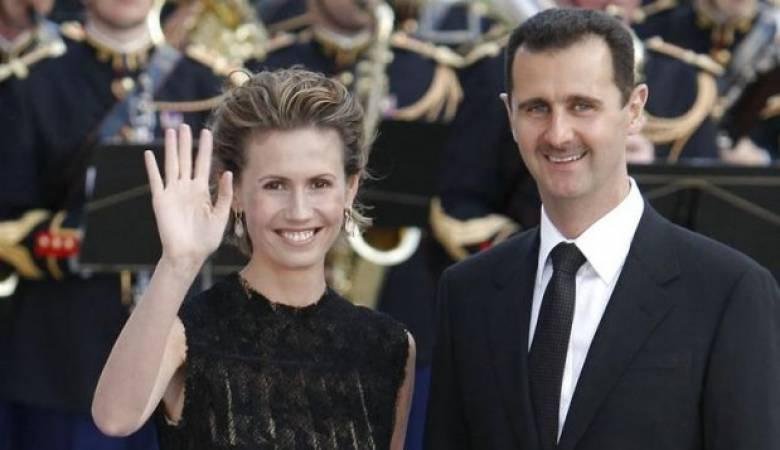 """الرئاسة السورية تعلن إصابة عقيلة الأسد بمرض خبيث """"السرطان"""""""