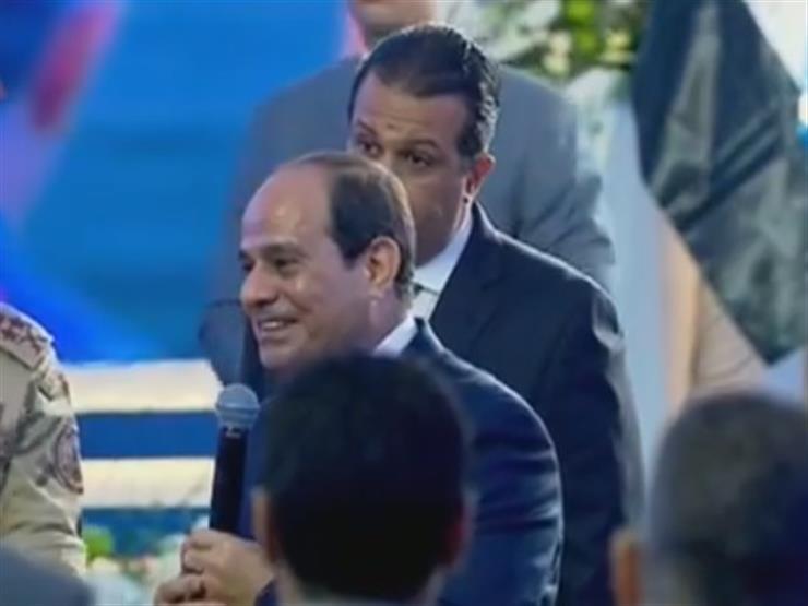 """الرئيس السيسي للمصريين: """"مفيش حاجة ببلاش خلاص"""""""